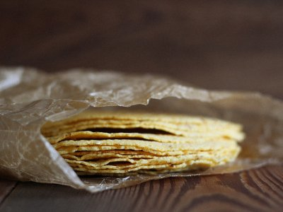 Sprouted Corn Tortillas
