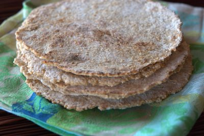 Sprouted Grain Tortillas, New Mexico Style