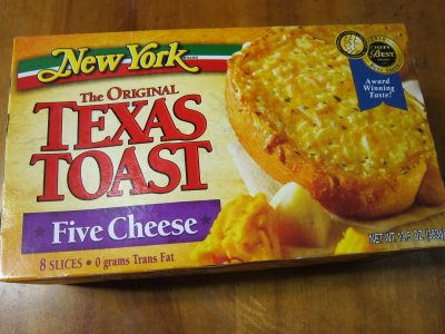 Texas Toast With Real Cheese