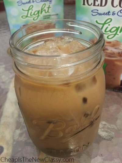 Iced Coffee Sweet Creamy Light Mocha