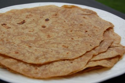 Flour Tortillas with Whole Wheat