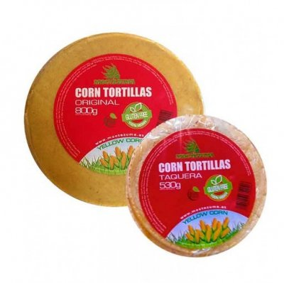 Organic Tortillas, Yellow Corn