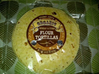 Organic Whole Wheat & Corn Flour Tortillas