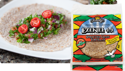 Soft Taco Size Sprouted Grains Tortillas