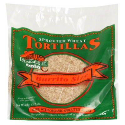 Sprouted Wheat Tortillas, Burrito Size