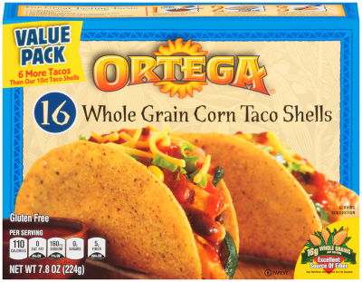 Taco Shells, Whole Grain Corn