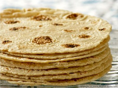 Whole Wheat & Corn Flour Tortillas