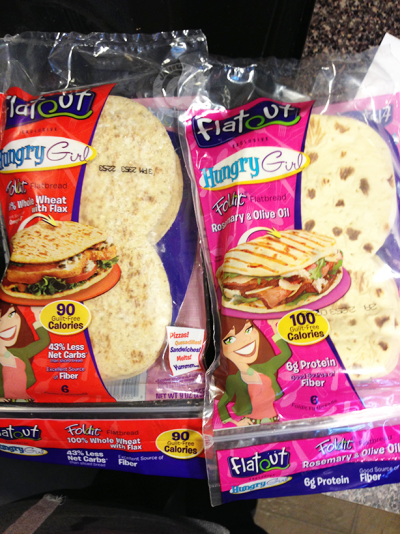 Hungry Girl, Fold It Flatbread, Traditional White