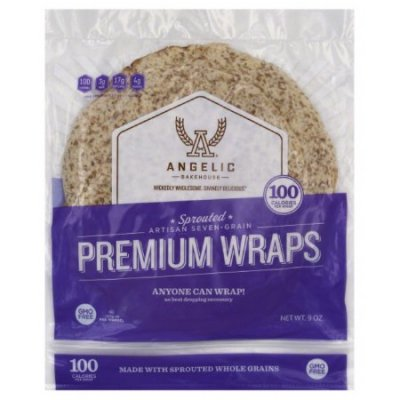 Sprouted Artisan Seven Grain Premium Wraps