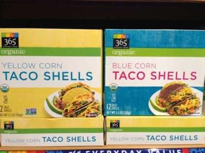 Taco Shells, Yellow Corn, Organic