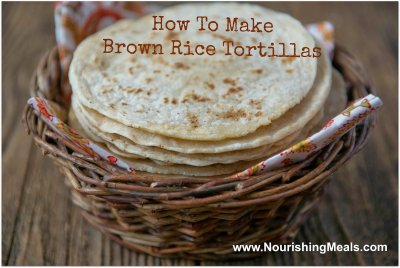 Tortillas, Brown Rice