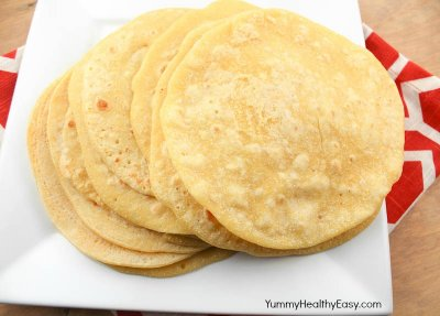Tortillas, Corn De Maiz Estilo Ranchero King Size