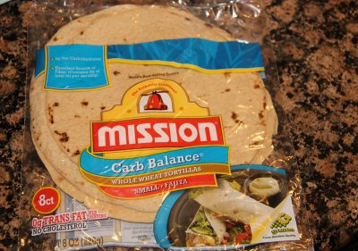 Whole Wheat Low Carb Tortillas