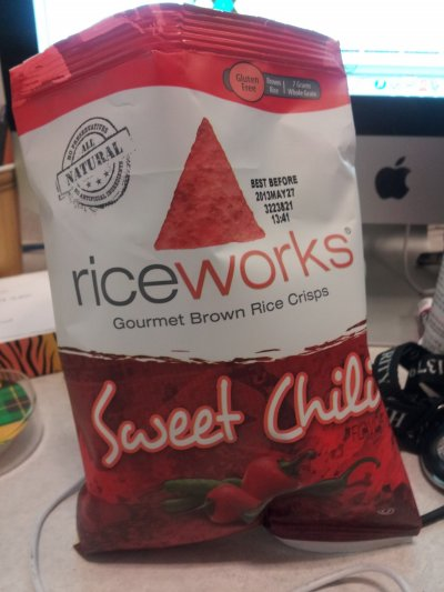 Sweet Chili Gourmet Brown Rice Crisps