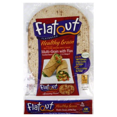Flatbread, Multi-Grain with Flax