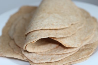 Gourmet Tortillas, Whole Wheat, Large