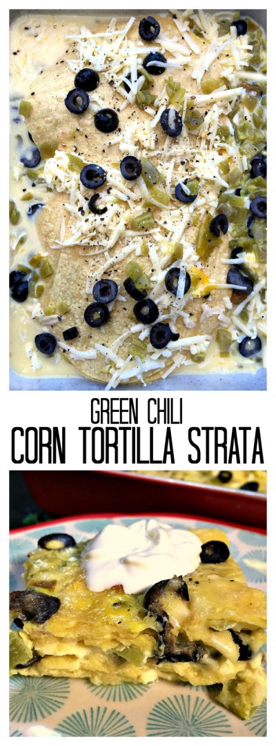 Green Chile Corn Tortillas