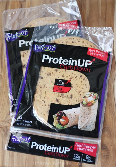 Protein Up, Carb Down, Flatbread