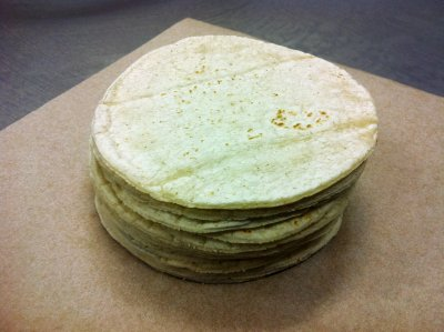 Tortillas, White Corn