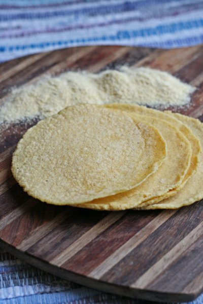 Tortillas, Yellow Corn