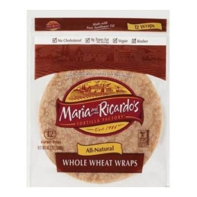 Whole Wheat Organic Tortillas