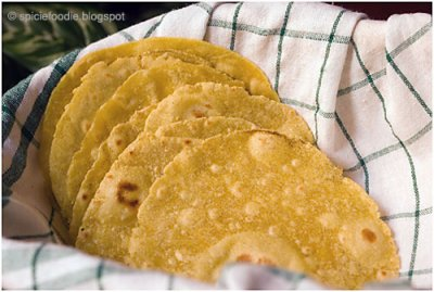 Yellow Corn Tortilla