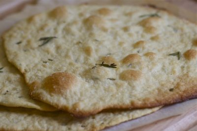 Flatbread, Rosemary and Olive Oil