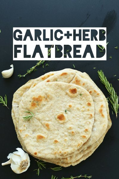 Garlic & Herb Flatbread