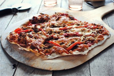 Italian Thin Crust Pizza