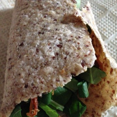 Oat With Flax Wraps