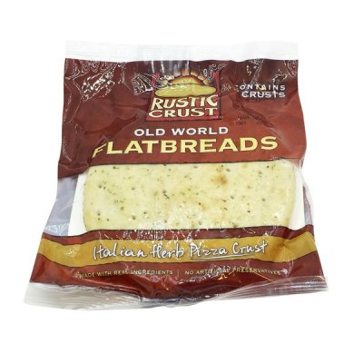 Old World Flatbreads, Italian Herb Pizza Crust
