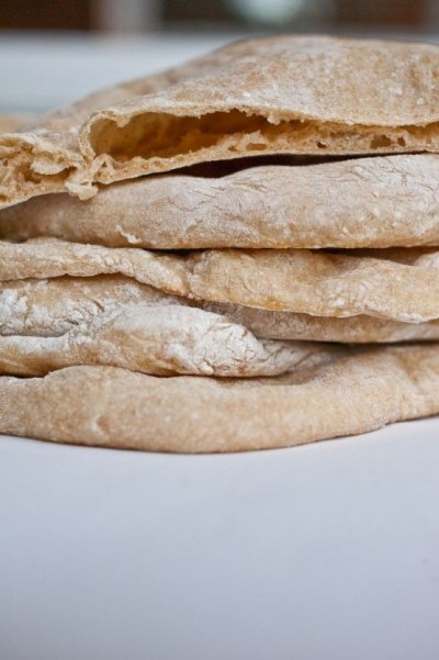 Pita, Whole Wheat, Greek
