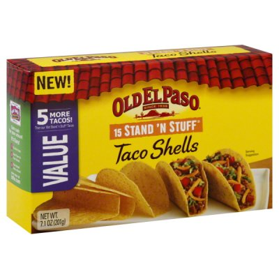 Taco Shells, Value