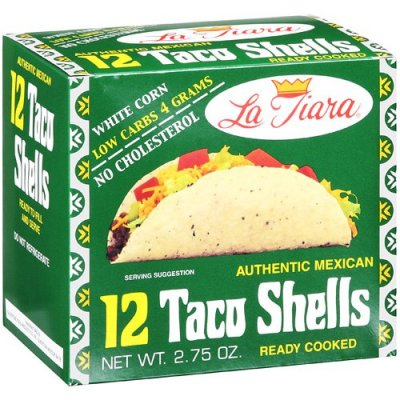 Taco Shells, White Corn