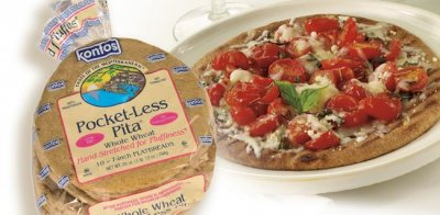 Pocket-Less Pita, Whole Wheat