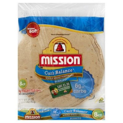 Tortillas,Whole Wheat 8 Ct