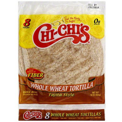 Tortillas,Whole Wheat Burrito Style 8 Ct