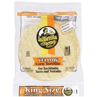 Tortillas,Yellow Corn 12 Ct