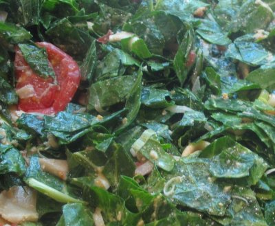 Collards, raw