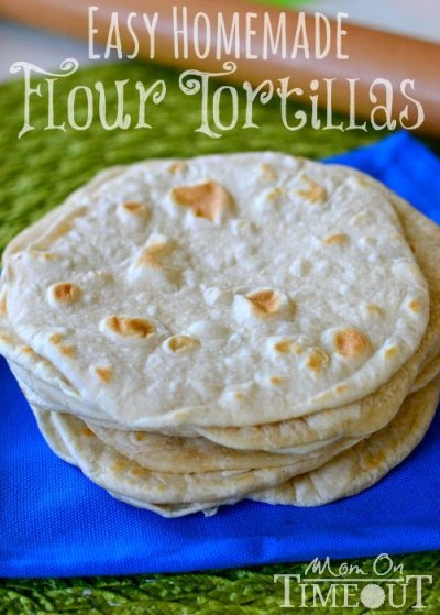 12 Flour Tortillas Snack Size Homemade Taste
