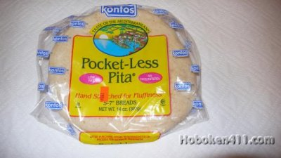 Pocketless  Wheat Pita Bread