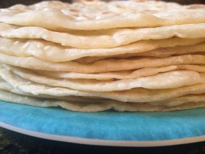 White Flour Tortillas