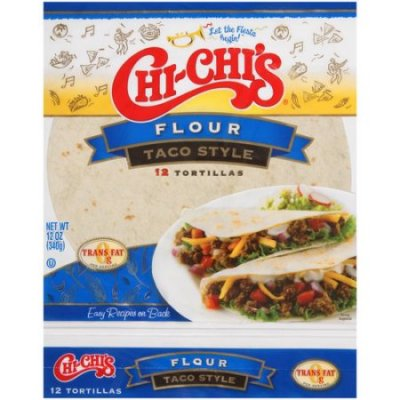 Flour Tortillas, Soft Taco Size