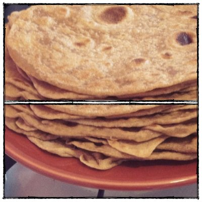 Tortillas, 100% Whole Wheat with Honey
