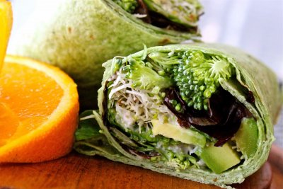Wraps, Spinach Herb