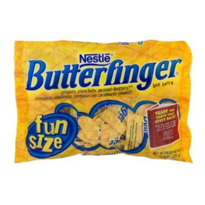 Butterfinger Candy, Fun Size - Calories, Nutrition Facts, Recipes