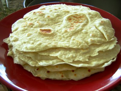 Authentic Flour Tortillas