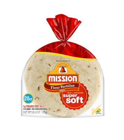Flour Tortillas, Super Soft