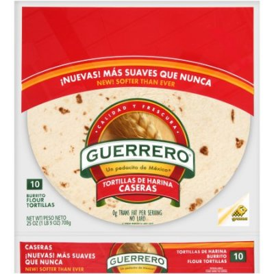 Flour Tortillas,Homestyle 10 Ct