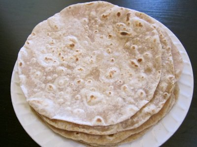 Tortillas, Flour, Partially Cooked